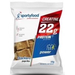 Biscotti e Dolci SportyFood, Crackers Power, 50 g