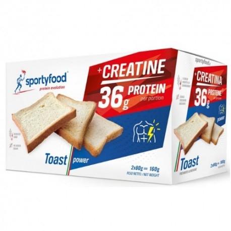 Pane e Prodotti da Forno SportyFood, Toast Power, 160 g