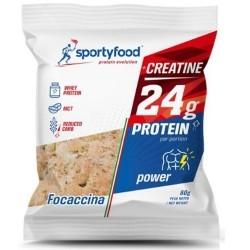 Scadenza Ravvicinata SportyFood, Focaccina, 80 g (Sc.11/2020)