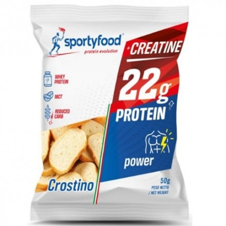 Pasti e Snack SportyFood, Crostino Power, 50 g
