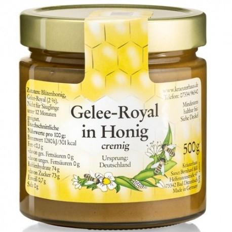 Creme Proteiche Sanct Bernhard, Gelee Royal in Honing, 500 g