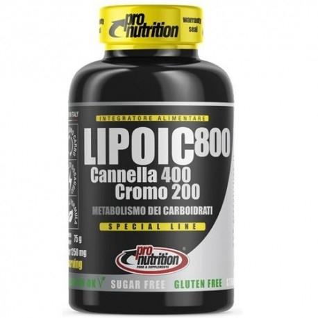 Acido lipoico Pro Nutrition, Lipoic 800, 60 cpr