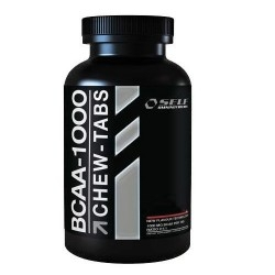Offerte Limitate Self Omninutrition, Bcaa 1000 Chew-Tabs, 120 cpr