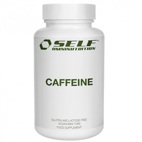 Caffeina Self Omninutrition, Caffeine, 100 cpr