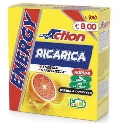 Tonici - Energizzanti Proaction, Energy Ricarica, 10 bustine