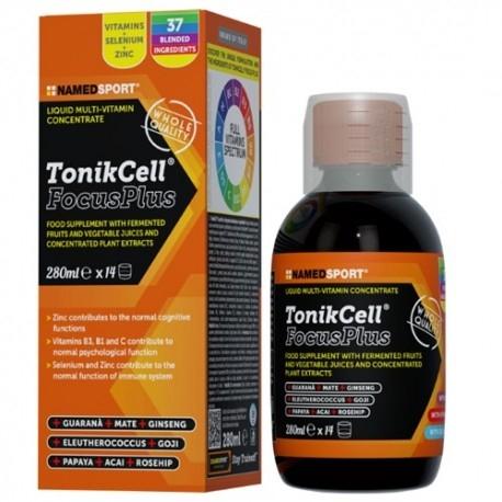 Tonici - Energizzanti Named Sport, Tonikcell Focus Plus, 280 ml