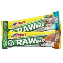 Barrette energetiche Proaction, Raw Bar, 30 g