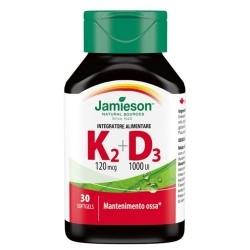 Vitamina D Jamieson, Vitamina K2+D3, 30 cps