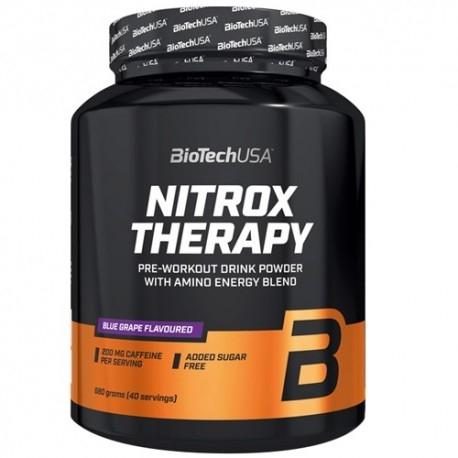 Pre Workout BioTech Usa, Nitrox Terapy, 680 g
