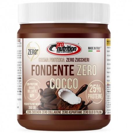 Creme Proteiche Pro Nutrition, Fondente Cocco Zero, 350 g