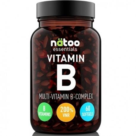 Vitamina B Natoo, Vitamin B Complex, 60 cps