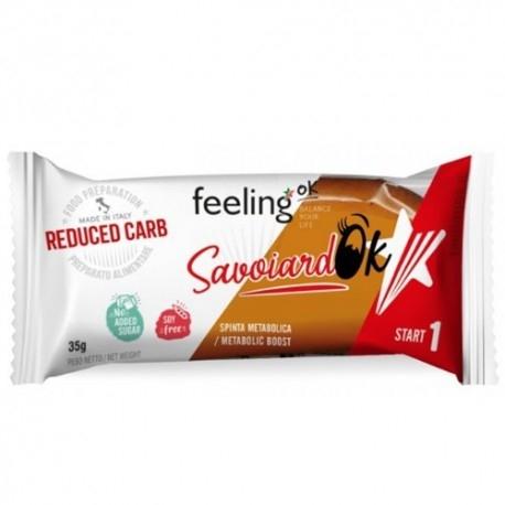 Biscotti e Dolci Feeling Ok, Savoiardo, 35 g
