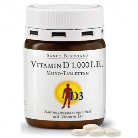 Vitamina D Sanct Bernhard, Vitamina D 1000 UI, 250 cpr