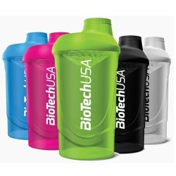 Shaker e Borracce Biotech Usa, Shaker, 600 ml