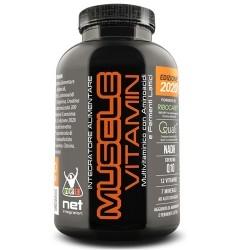 Multivitaminici - Multiminerali Net Integratori, Muscle Vitamin, 120 cpr