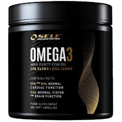 Omega 3 Self Omninutrition, Omega 3 Fish Oil, 280 cps