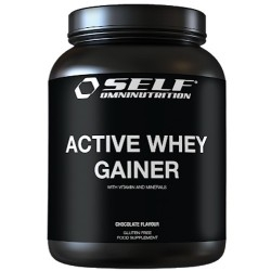 Gainers Self Omninutrition, Active Whey Gainer, 2000 g