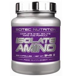 Aminoacidi essenziali Scitec Nutrition, Isolate Amino, 500 cps.