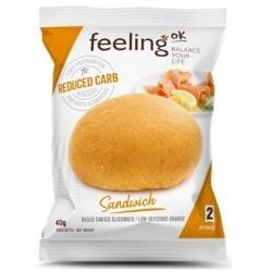 Pane e Prodotti da Forno Feeling Ok, Sandwich Natural Optimize, 40 g