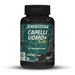 Unghie e Capelli Eurosup, Capelli Uomo + Forte, 80cps