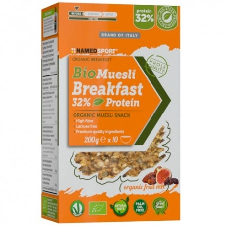 Muesli Named Sport, Biomuesli Breakfast, 200 g