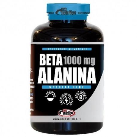 Beta alanina Pro Nutrition, Beta Alanina, 120 cpr.