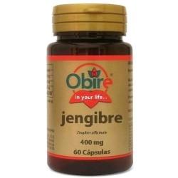 Funzionalità digestiva Obire, Zenzero, 60 cps