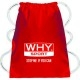 Borse e sacche WHY Sport, Sport Bag Rossa