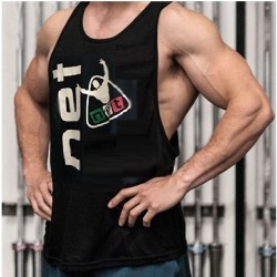T-Shirt e Pantaloni Net Integratori, Canotta Body Building
