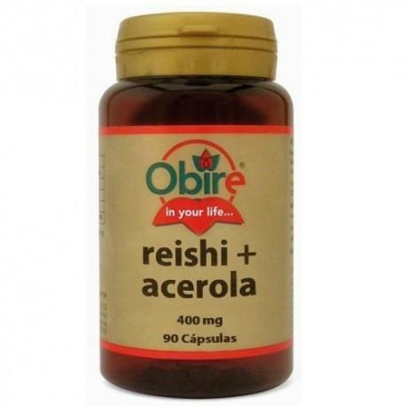 Reishi - Shiitake Obire, Reishi e Acerola, 90 cps