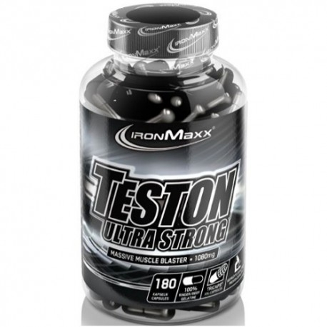 Tonici - Energizzanti IronMaxx, Teston Ultra Strong, 180 cps