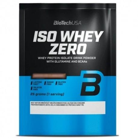 Proteine del Siero del Latte (whey) BioTech Usa, Iso Whey Zero, 25 g