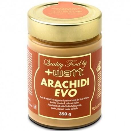Burro di Arachidi +Watt, Arachidi Evo, 350 g