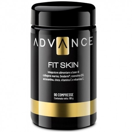 Collagene Advance, Fit Skin, 90 cpr