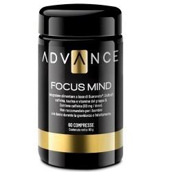 Tonici - Energizzanti Advance, Focus Mind, 60 cpr