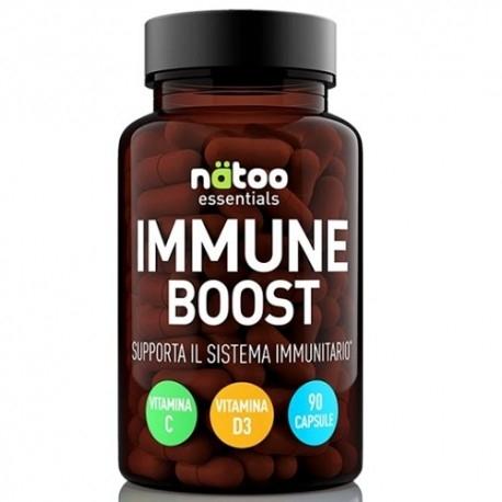 Difese organismo Natoo, Essentials Immune Boost, 90 cps