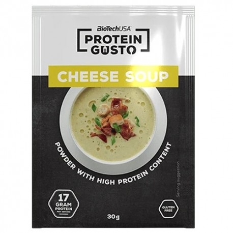 Pasti e Snack BioTech Usa, Cheese Soup, 10 x 30 g