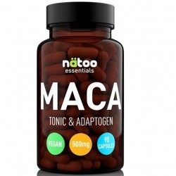 Maca Natoo, Essentials Maca, 90 cps