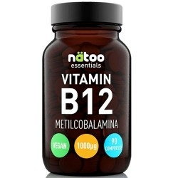 Vitamina B Natoo, Essentials Vitamin B12, 90 cpr