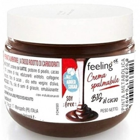 Creme Proteiche Feeling Ok, Crema spalmabile, 250 g
