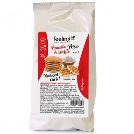 Pancake Feeling Ok, Pancake Waffle Mix, 400 g