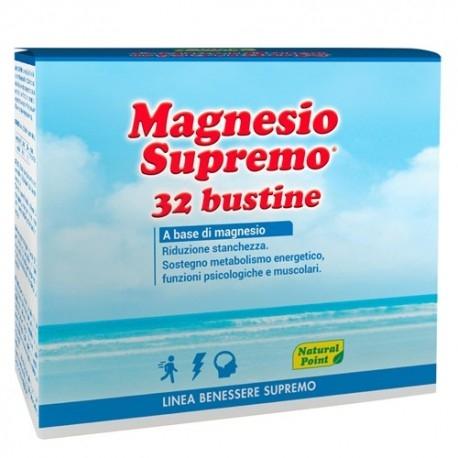 Zinco e Magnesio Natural Point, Magnesio Supremo, 32 bustine