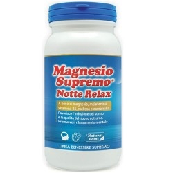 Sonno Natural Point, Magnesio Supremo Notte Relax, 150 g
