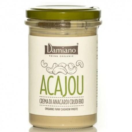 Creme Bio Damiano Organic, Acajou, Anacardi Crudi, 275 g