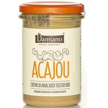 Creme Bio Damiano Organic, Acajou Anacardi Tostati, 275 g