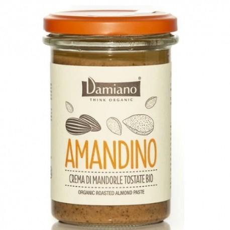 Creme Bio Damiano Organic, Amandino Mandorle Tostate, 275 g