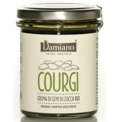 Creme Bio Damiano Organic, Courgi Pasta di Semi di Zucca, 180 g