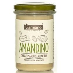 Creme Bio Damiano Organic, Amandino Mandorle pelate, 275 g