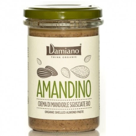 Creme Bio Damiano Organic, Amandino Mandorle Sgusciate , 275 g
