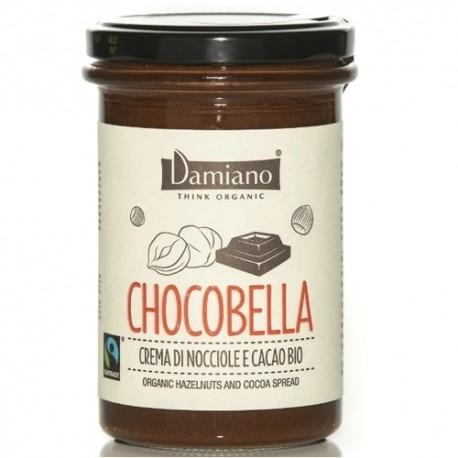 Creme Bio Damiano Organic, Chocobella Cacao Nocciole, 365 g